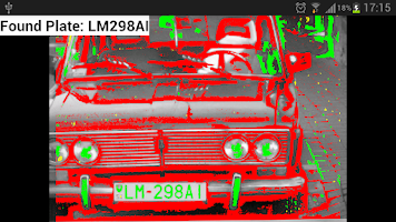 Screenshot of License Plate Reader (ANPR)