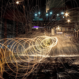 by Leroy Kimbrough - Abstract Light Painting