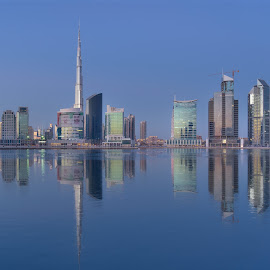 Reflection by Walid Ahmad - Buildings & Architecture Office Buildings & Hotels ( sony, reflection, dubai, uae, photo, photography )
