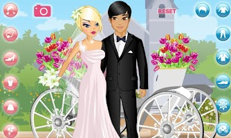 Screenshot of Dress Up! Wedding: Bride to Be