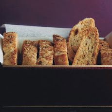 Parmesan Black-Pepper Biscotti