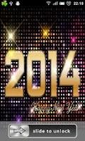 Screenshot of 2014 New Year Lock Screen