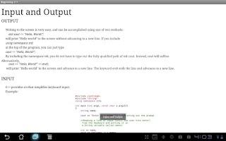 Screenshot of Beginning C++ Programming