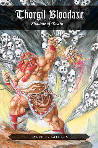 Thorgil Bloodaxe, Shadow of Death cover