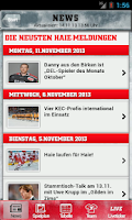 Screenshot of Kölner Haie
