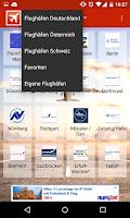 Screenshot of Flughafen Info