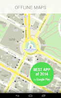 Screenshot of MAPS.ME–Offline Maps & Routing