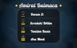 Screenshot of Amiral Bulmaca