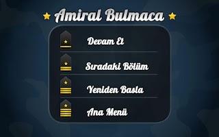 Screenshot of Amiral Bulmaca