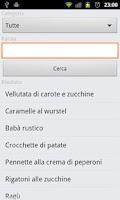 Screenshot of Ricette per Bimby(c) DEMO