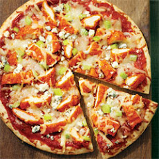 Grilled Buffalo Chicken Pizza