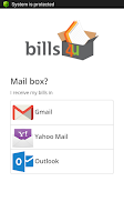 Screenshot of bills4u