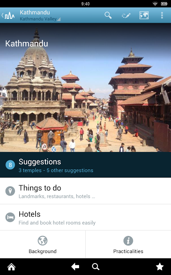 World Travel Guide by Triposo Screenshot 9