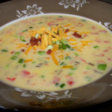 Smashed Potato Chowder With Variations