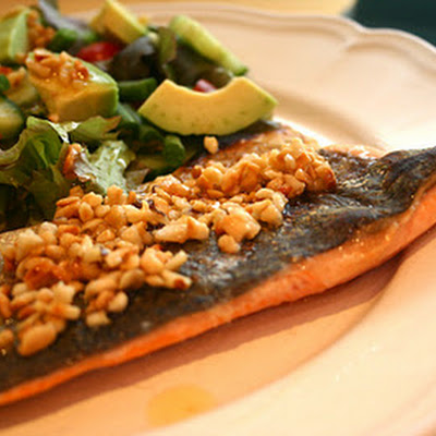 Trout With Roasted Hazelnut Butter