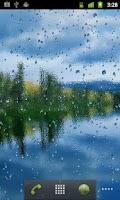 Screenshot of Rain On Screen