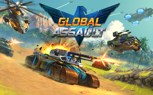 Game Global Assault apk for kindle fire
