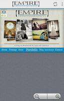 Screenshot of Empire Photography Winnipeg