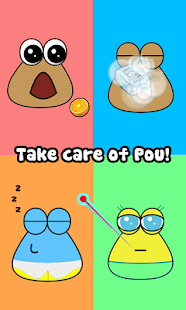 Pou apk screenshot