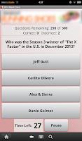 Screenshot of 2014 Music Trivia
