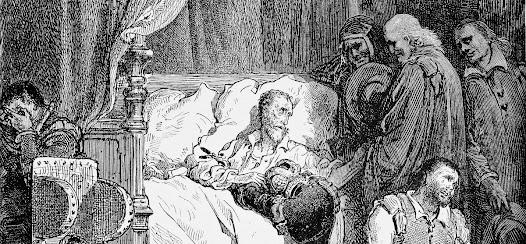 """""""Con todo esto –respondió don Quijote-, tomara yo ahora con más aína un cuartal de pan o una hogaza y dos cabezas de sardinas arenques, que cuantas yerbas describe Dioscórides, aunque fuera el ilustrado por el doctor Laguna."""""""
