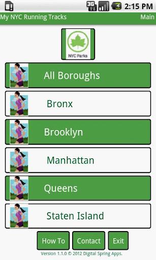 My NYC Running Tracks