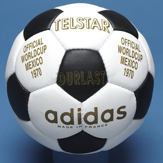 """""""There seems to be something modern, clean and geometric about the Telstar ball..."""" David Goldblatt, Football Writer"""