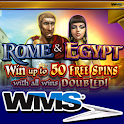 Rome and Egypt HD Slot Machine icon