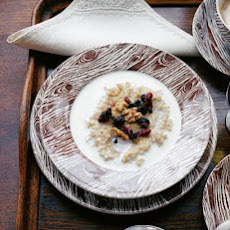 Porridge with Dried Fruits and Nuts