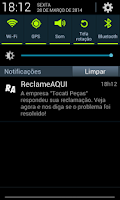 Screenshot of Reclame Aqui