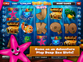 Screenshot of Deep Sea Slots - Slot Machine