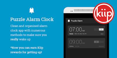 Screenshot of Puzzle Alarm Clock