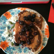 Berry Wheat Germ Pancakes