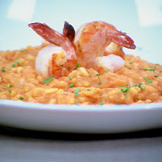 Shrimp and Tomato Risotto