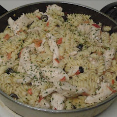 Creamy Chicken Spirals