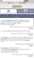 Screenshot of Ekşi Sözlük