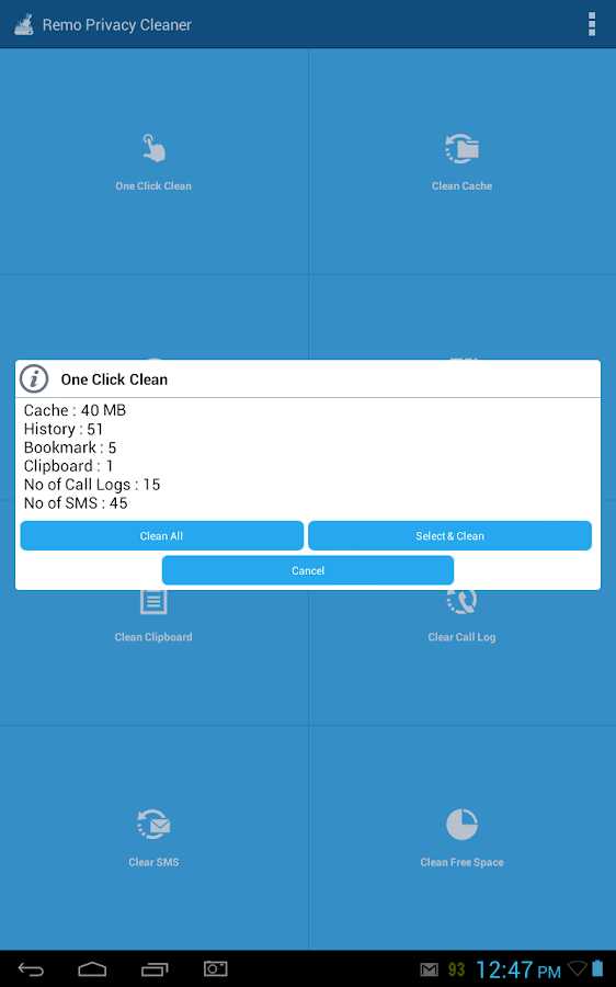 Remo Privacy Cleaner Pro Screenshot 5