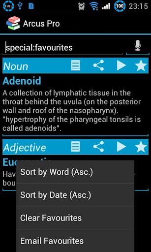 書籍必備APP下載 Arcus Dictionary Pro (ADS) 好玩app不花錢 綠色工廠好玩App