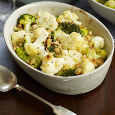 Creamy Cauliflower & Broccoli Bake
