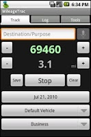 Screenshot of MileageTrac Trial Mileage Trac