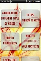 Screenshot of How to kiss - ultimate guide t