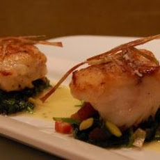 Balsamic Glazed Monkfish Recipe