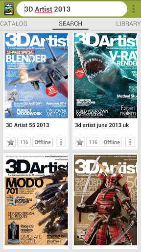 All Magazines Screenshot
