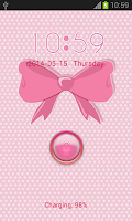 Screenshot of Pink Bow Locker
