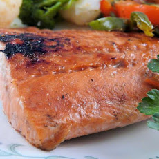 Grilled Honey-Balsamic Salmon