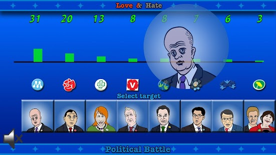 Political Battle - screenshot
