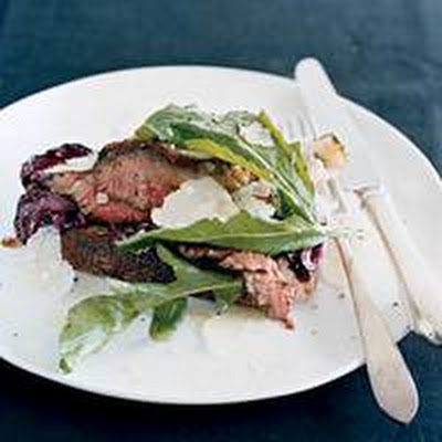 Knife-and-Fork Steak-and-Radicchio Sandwiches