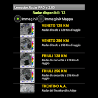 Screenshot of Radar Meteo Pro