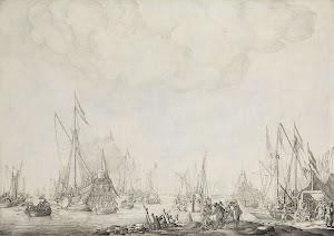 RIJKS: Willem van de Velde (I): painting 1693