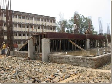 Vidya Mandir School New Bldg.Const.Work 007
